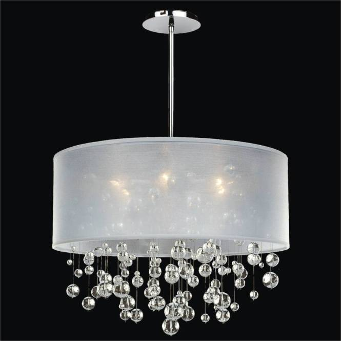 Bubble Chandelier Drum Shade Silhouette 590 By