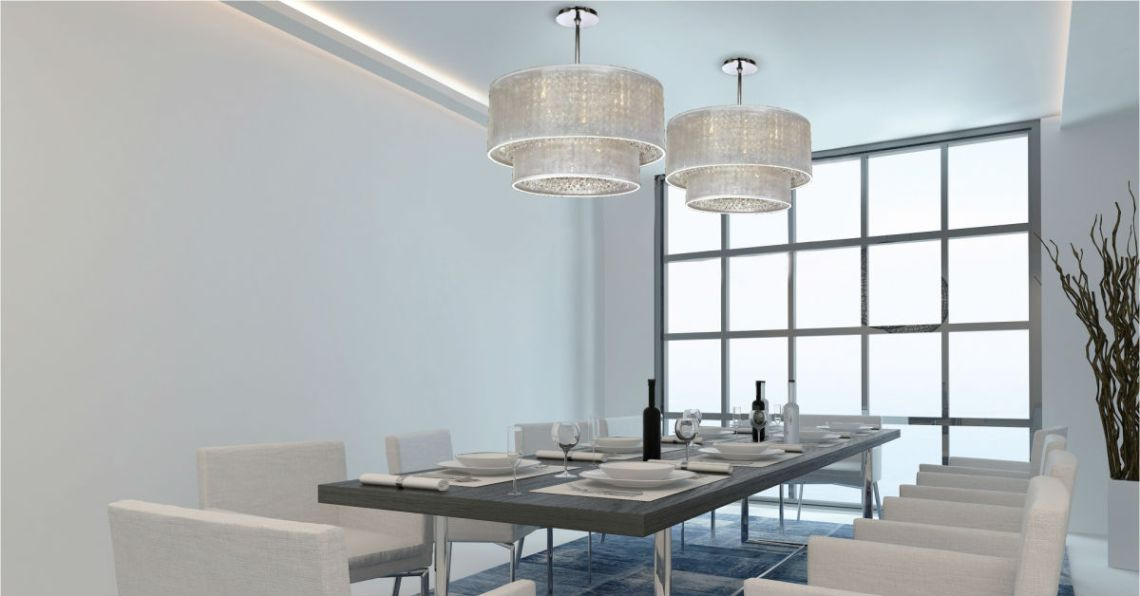 Image Result For What Size Chandelier For Dining Room Table