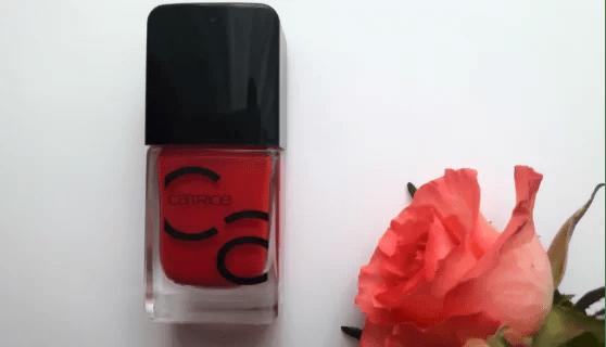 Lakier Cartice ICONails i róża