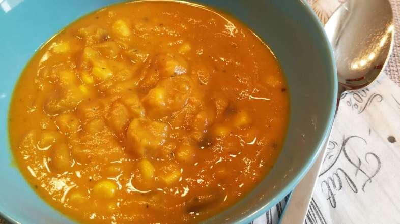 Orientalische Süßkartoffelsuppe