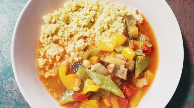 Marokkanischer Gemüseeintopf