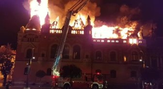 oradea incendiu