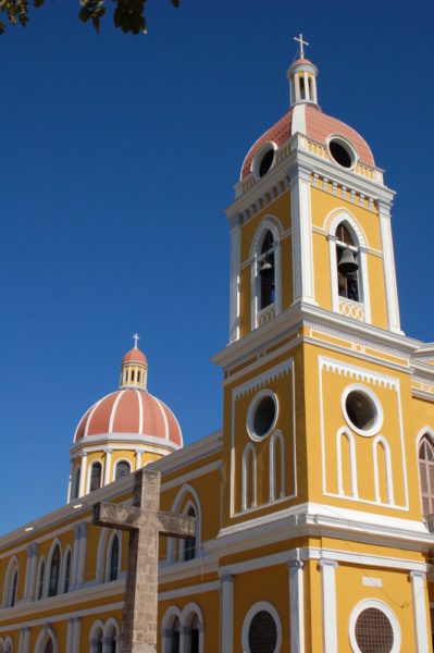 Granada Cathedral in Nicaragua.