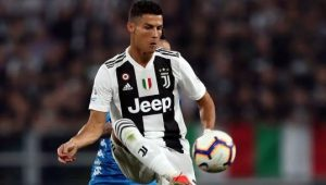 What Cristiano Ronaldo Said After Scoring In Juventus' 2-1 Win Over AS Roma