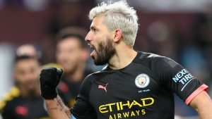Guardiola Reacts As Aguero Breaks Thierry Henry's Record