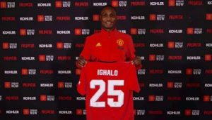Manchester United Register Odion Ighalo For Europa League