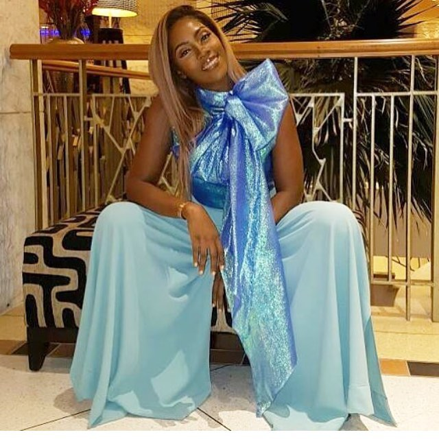 Slay Mama! See Tiwa Savage Sparkles Outfit For 10 Days in Sun City Movie Premiere