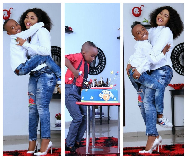 Mercy Aigbe Releases Lovely New Photos To Celebrate Son's Birthday