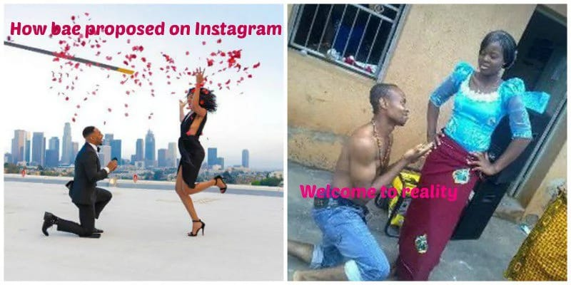 vllkyt40s4ndo04hu.7c4d5abd - Fake Life! 12 HILARIOUS Photos That Show The Difference Between Nigerian Girls on Instagram and Reality (Photos)