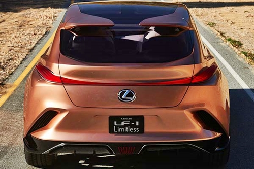 car lexus f1 4 - Check Out The Beautiful New Lexus LF-1 Limitless SUV (Photos)