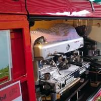 Das Espressomobil auf dem Findorff-Markt