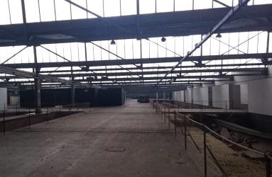 Die ehemalige Gleishalle ist heute Kulturort für Installationen, Ausstellungen und den Bremer Kunstfrühling,
