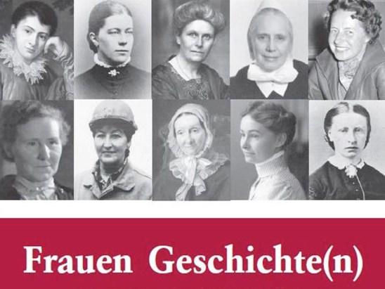 Cover des aktuellen Bremer Frauenlexikons: Bremer Frauen Geschichten.