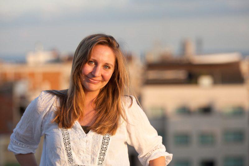 Portraitbild der Fotografin Kathrin Truhart
