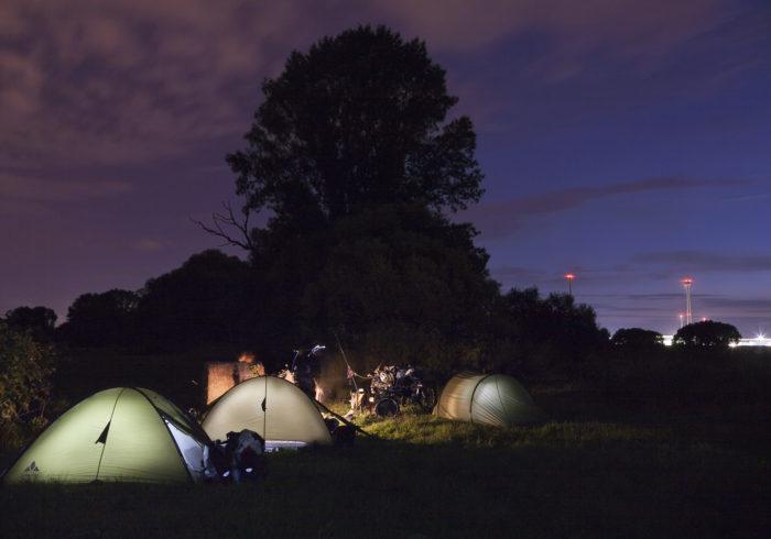 Mut-Tour by night in der Nähe von Lostau, Sachsen-Anhalt.