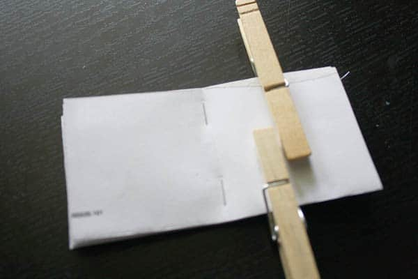 Dig some security envelopes out of the recycle bin and make yourself a mini junk mail notebook!