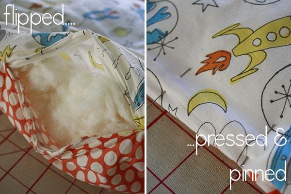 closing easy baby blanket
