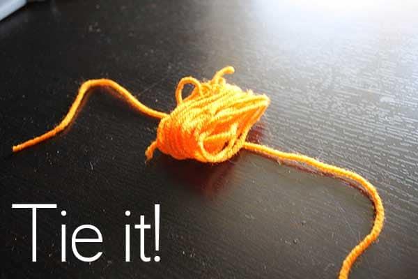 tie it