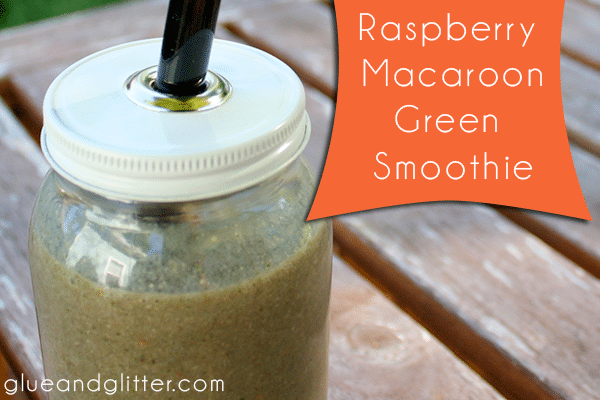 This raspberry green smoothie has a coconut twist! It may not be pretty, but it's pretty delicious, I promise.
