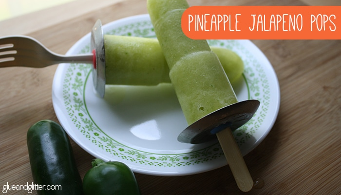 Sweet and spicy fruit pops are my favorite sort. These pineapple jalapeno popsicles are based on my favorite sort from a local pop seller here in Atlanta.