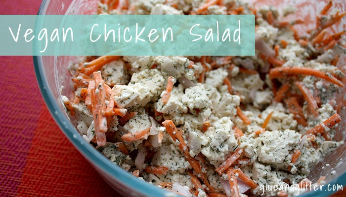 Easy Vegan Lunch Ideas: Vegan Chicken Salad