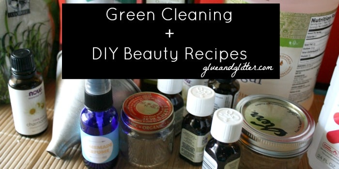 With these 7 ingredients, you can make 4 DIY beauty and green cleaning recipes!