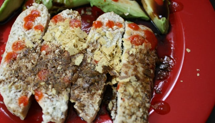 Hemp Tofu with Balsamic and Nooch