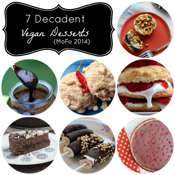 7 Decadent Vegan Dessert Recipes