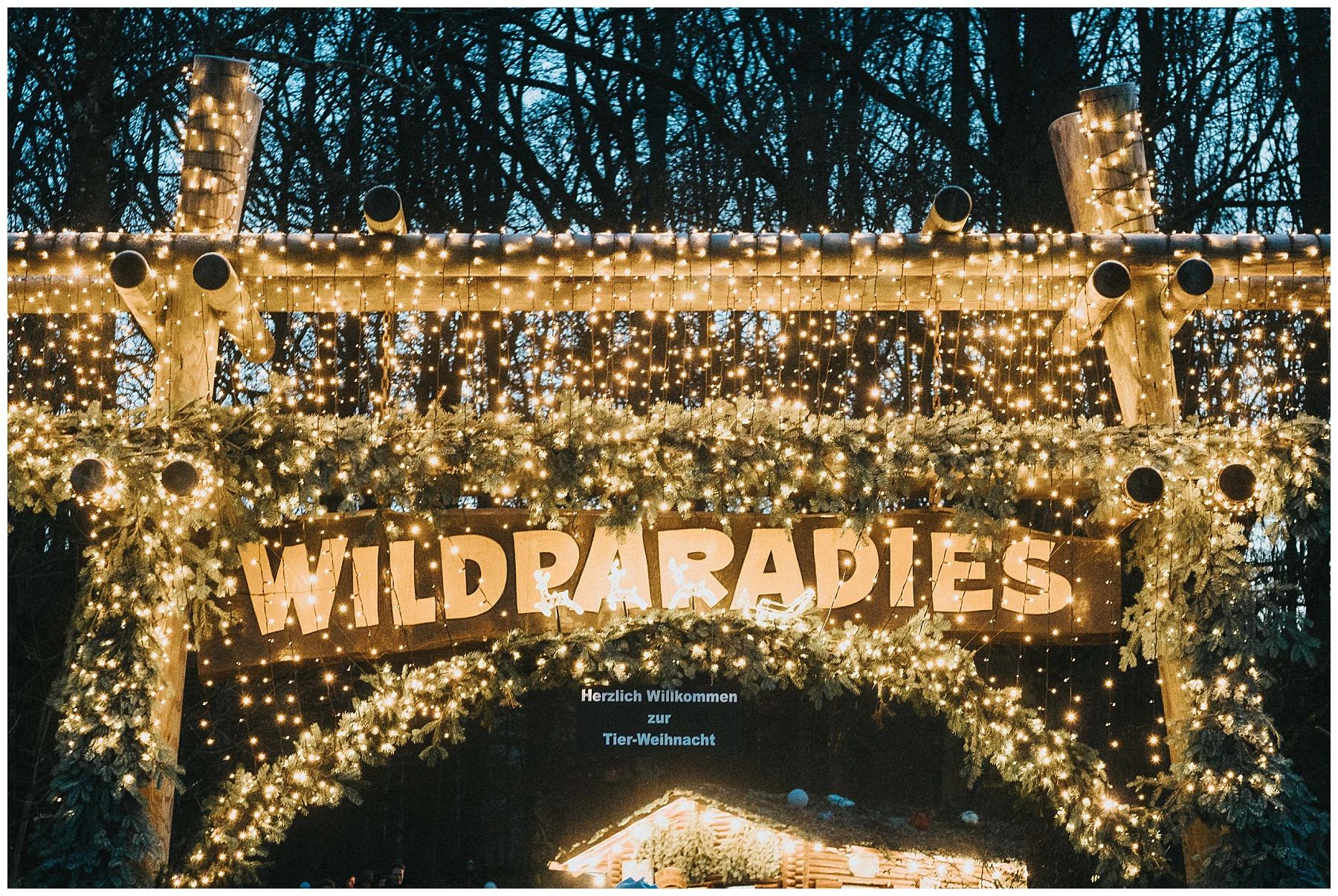 Tierweihnacht Tripsdrill Wildpark Wildparadies