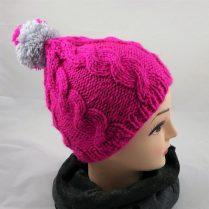 Mütze pink reflektiert