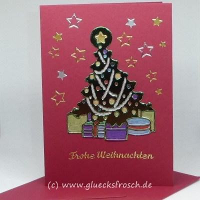 Weihnachtskarten und Geschenkanhänger für Weihnachten