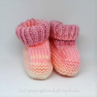 rosa babyschuh