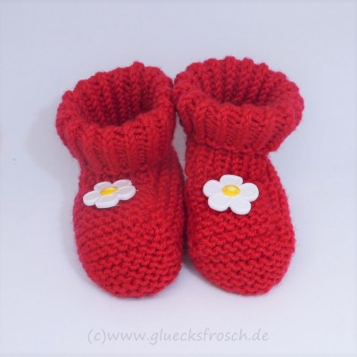 rote babyschuhe