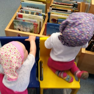 Foto Kinder Bibliothek