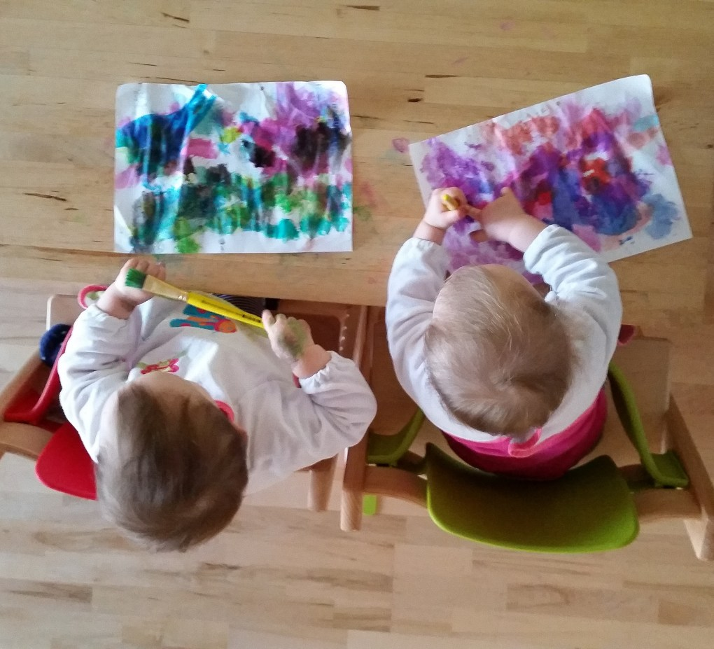 Fotos Kinder malen