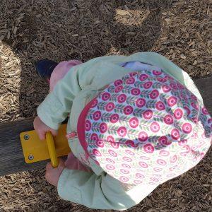 Foto Kind am Spielplazu