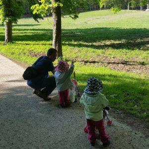 Foto Kinder machen einen Ausflug
