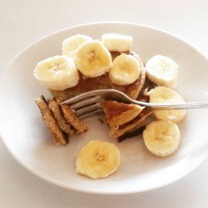 Foto Bananen-Pancakes
