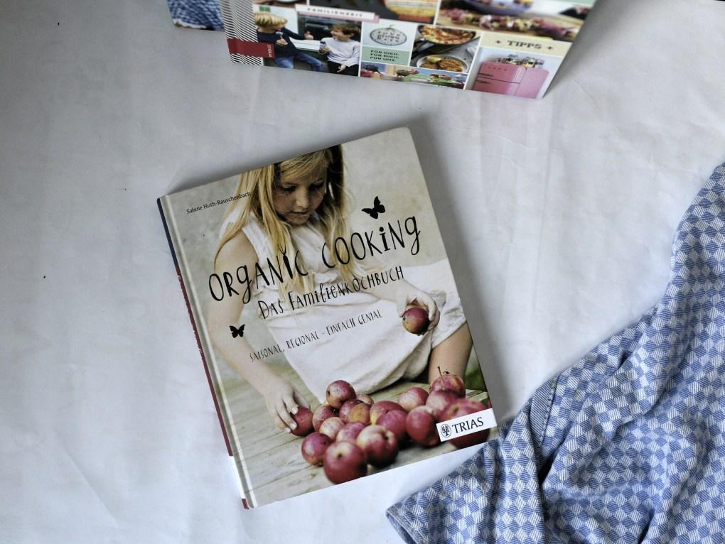 Foto vom Buchcover Organic Cooking