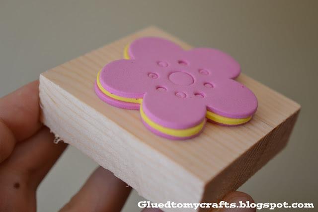 DIY Foam Stamps {Craft}