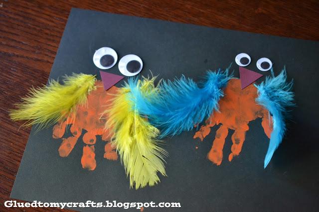 Wacky Birds {Kid Friendly Craft}