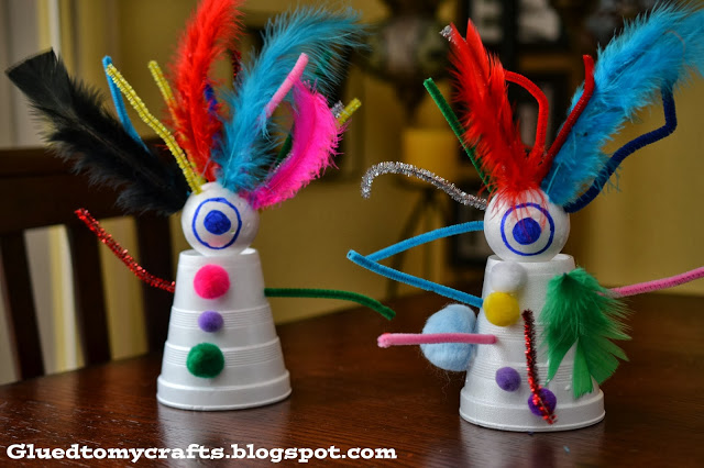 Creative Monsters {Kid Craft}