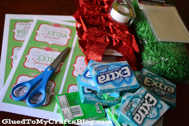 Stocking Stuffer Idea & Free Printable #GiveExtraGum #AD #Sponsored