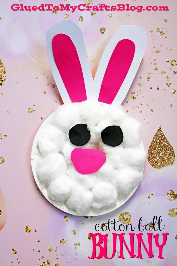 Cotton Ball Bunny {Kid Craft}