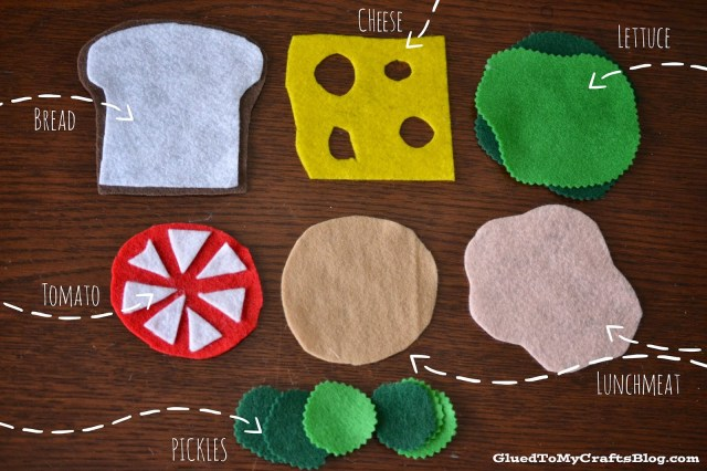Felt Sandwich {Busy Bag Idea}