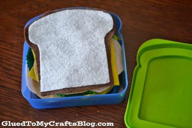 Felt Sandwich {Busy Bag Idea}
