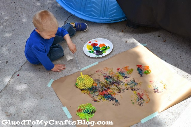 Fly Swatter Painting {Kid Craft}