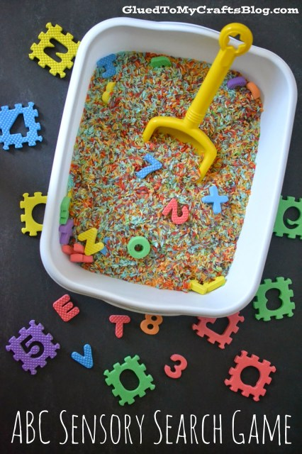 ABC Sensory Search Game