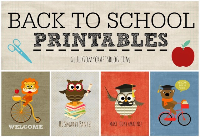 Back To School {Printables}