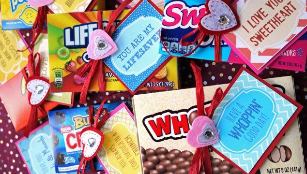 Candy Grams {Free Printable}
